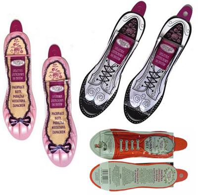 Saszetka zapachowa do butów