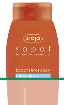 Sopot - Balsam brązujący relaksujący