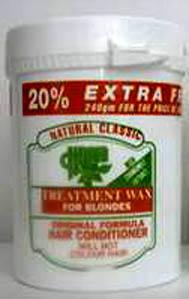 Henna Treatment Wax - odżywcza maseczka do włosów jasnych