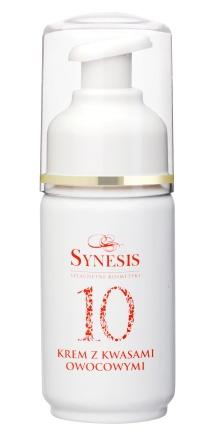 Synesis - krem z kwasami owocowymi – 10 aktywnych składników