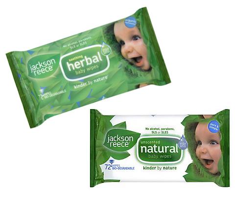 Herbal Baby Wipes - eko chusteczki nawilżane