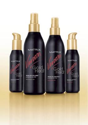 Matrix - Vavoom Gold Heat protective lotion do włosów cienkich i normalnych