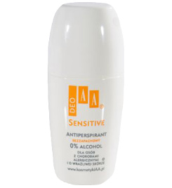 AA Deo Sensitive - antiperspirant bezzapachowy