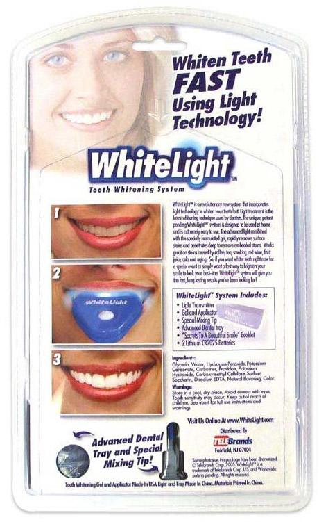 System wybielania zębów