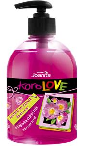 KoroLOVE - mydło w płynie o zapachu dzikiej róży