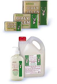 Biały Jeleń - Mydło szare naturalne